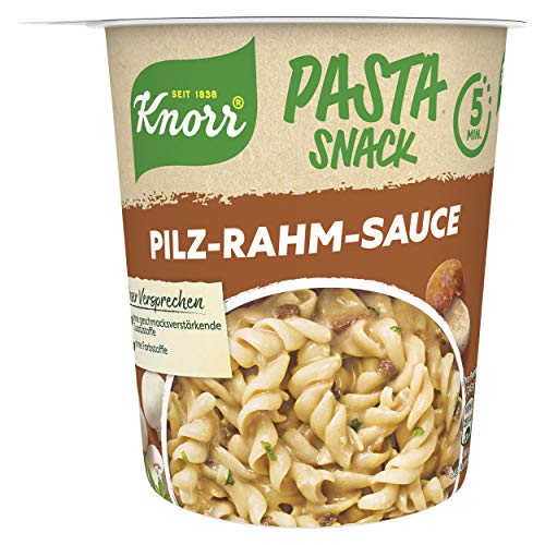 Knorr Pasta Snack Pilz-Rahm-Sauce, 1 x 70 g