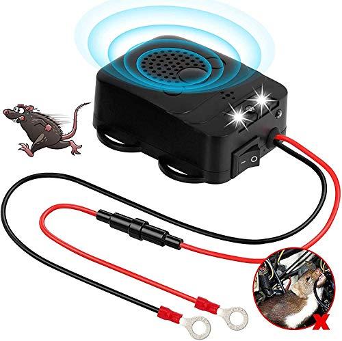 Grunda Ahuyentador de martas para coche (frecuencia ultrasónica, 12 kHz-25 kHz), conexión...