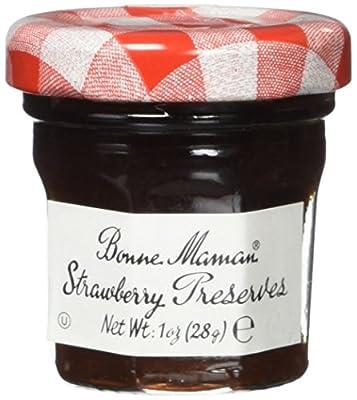 Bonne Maman Strawberry Preserve Mini Jars Kosher Jam