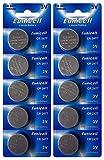 Eunicell 10 pilas de botón CR2477 3 V de litio 1050 mAh (2 blísteres con 5 pilas)
