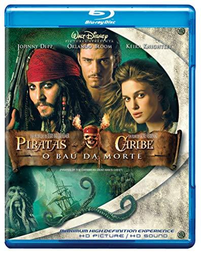 Piratas Do Caribe Morte Blu ray