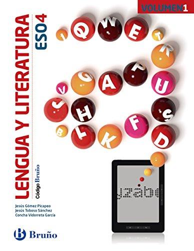 Código Bruño Lengua y Literatura 4 ESO - 3 volúmenes - 9788469613269