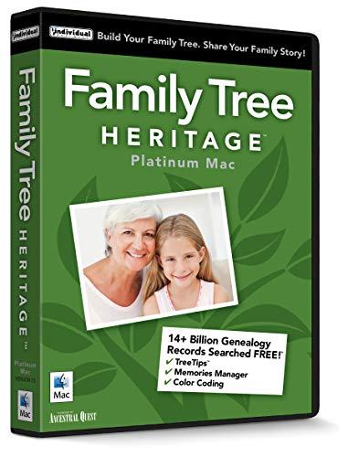 Family Tree Heritage Platinum - Mac