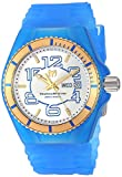 Technomarine Men's Cruise Stainless Steel Quartz Watch with Silicone Strap, Blue, 28 (Model: TM-115143)