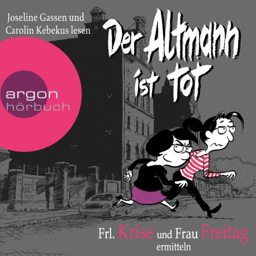 Der Altmann ist tot audiobook cover art
