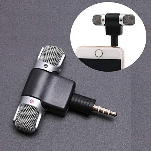 NOP 3,5 mm Jack Microfoon Stereo Mic Voor Opname Mobiele Telefoon Studio Interview Microfoon 4 pin Voor smartphone
