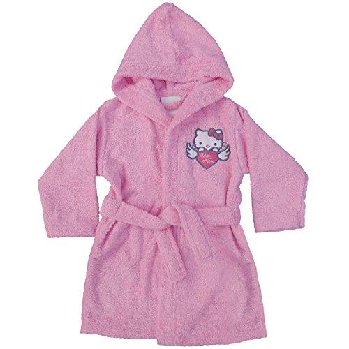 CTI 042730 Hello Kitty Wings - Albornoz (algodón, 6 a 8 años), color rosa