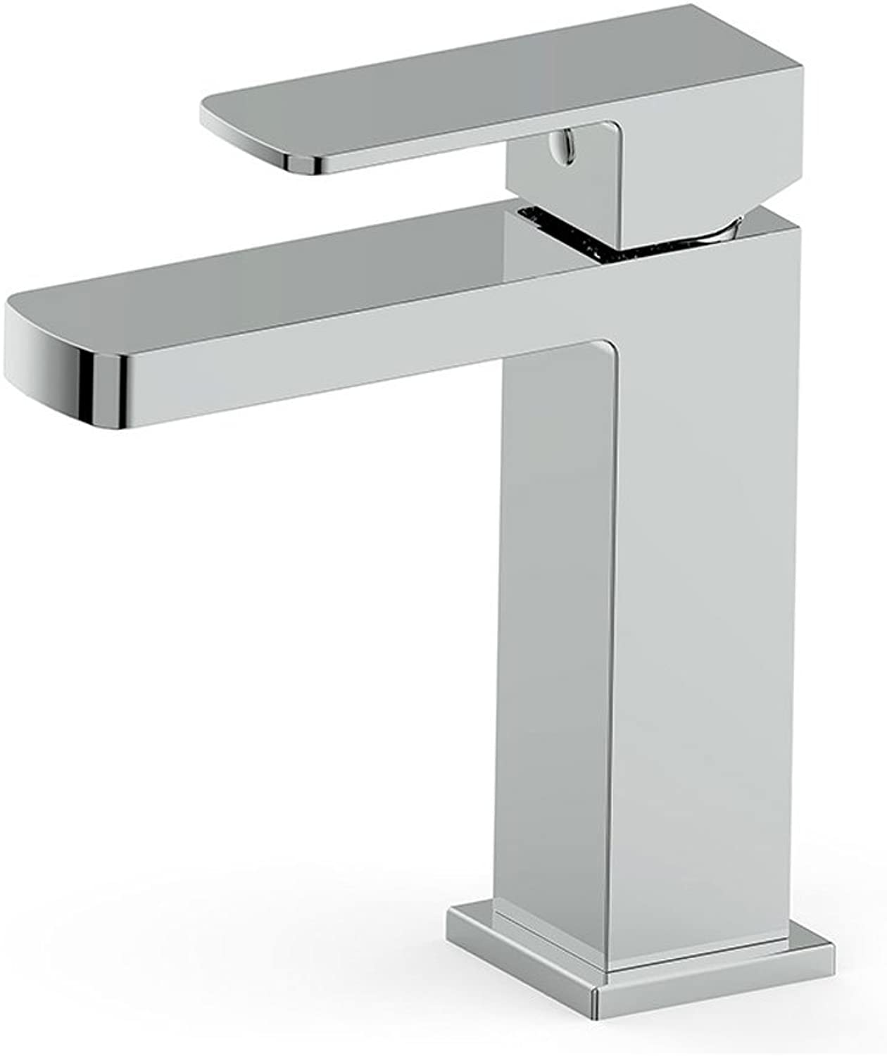 BHJqsy Bathroom Fixtures Single-connected faucet, hot and cold water mixing basin faucet washbasin bathroom faucet Stainless Steel