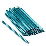 ESTEXO 30 Stück Befestigungsclips für PVC Sichtschutz-Streifen, Clip, Sichtschutz, Befestigung (Grün)
