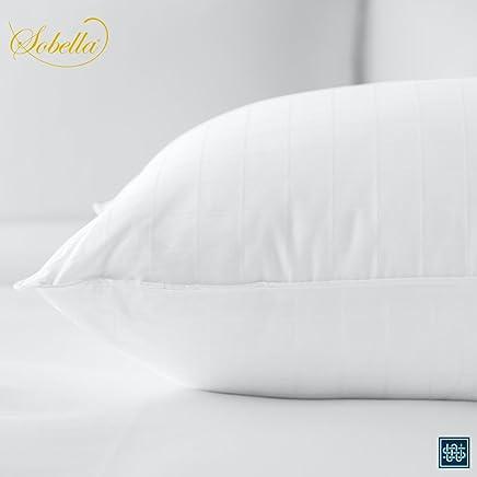Sobella: Best Side Sleeper Pillow - Hotel & Resort Quality Pillows - Polyester Fill Cotton