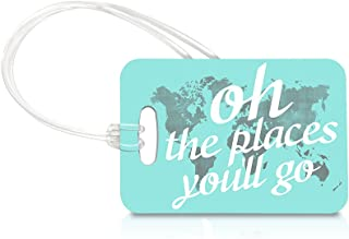 Best oh the places you ll go luggage tag Reviews