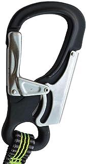 Spinlock Elastisk prestandalinje med tre klämmor – svart – lätt – unisex – lateral belastning av kroken måste undvikas