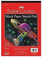 "Black Paper Sketch Pad 9""X12""-40 sheets (並行輸入品)"