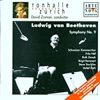 Beethoven: Symphony No. 9 by ZINMAN / TONHALLE ORCH ZURICH