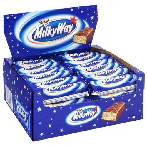 Milky Way Chocolate Bar European 21.5g/0.75oz (Pack of 56)