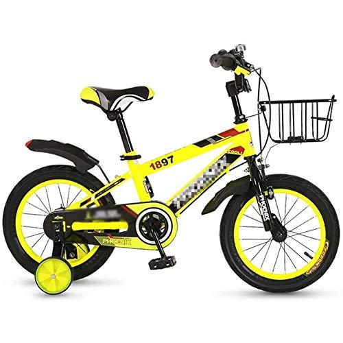 AZZ Kinderfiets jongensfiets voor meisjes bike 3 kleuren 12