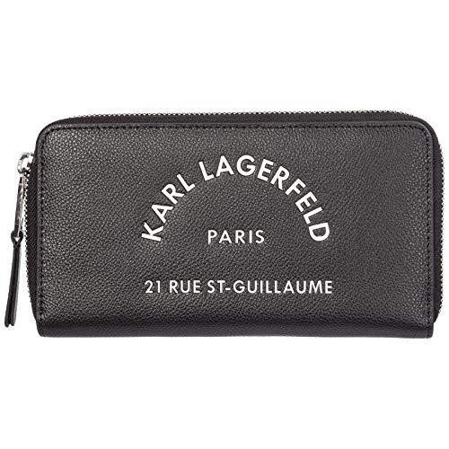 Karl lagerveld dames portemonnee Rue St-Guillaume zwart