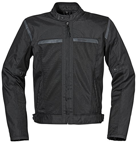 Germot Summer Motorrad Textiljacke XL Schwarz