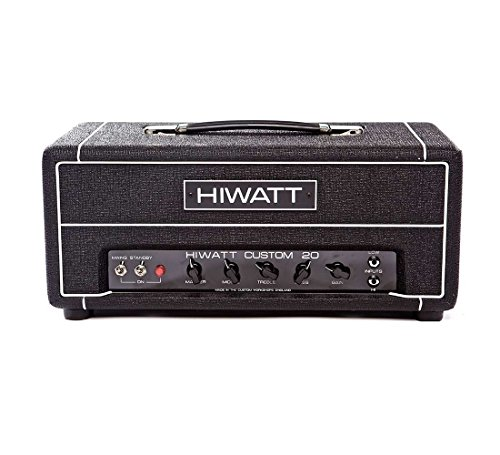 Hiwatt Custom 20H Clase tienda de encargo de la lámpara principal amplificador de guitarra de 20 W