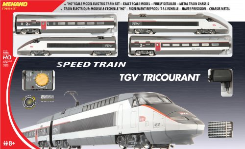 Mehano- Coffret de Train TGV, T110