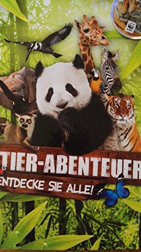 WWF Rewe Tier-Abenteuer Sticker Sammelalbum - NEU