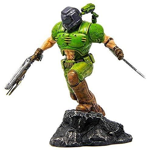 Doom Classic Marine Unisex Statue Standard Polyresin Limited Edition Bethesda, Fan-Merch, Filme, Gaming