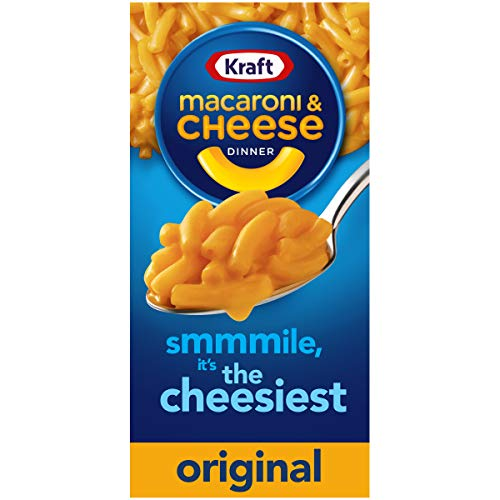 Kraft Original Flavor Macaroni and Cheese Meal 725 oz Boxes Pack of 15
