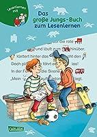 Das grosse Jungs-Buch zum Lesenlernen: Einfache Geschichten zum Selberlesen - Lesen lernen, ueben und vertiefen