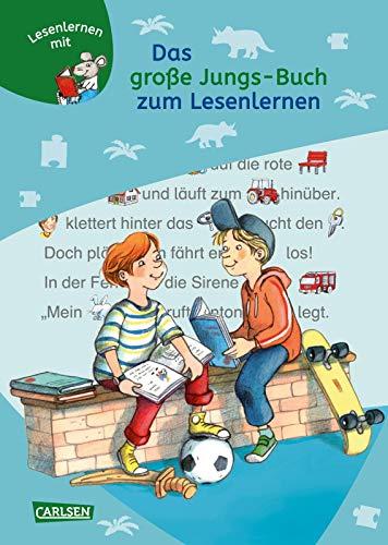 Das große Jungs-Buch zum Lesenlernen: Einfache Geschichten zum Selberlesen - Lesen lernen, üben und vertiefen