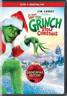 Dr Seuss' How the Grinch Stole Christmas [DVD] [Import]
