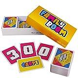ZENAGAME Family Boom - Il Gioco da Tavola per Tutta la Famiglia - 300 Carte da Gioco Diverse e Divertenti, Set Gioco per Famiglie, Gioco di Carte Bambini - Carte Gioco per Adulti e Bambini