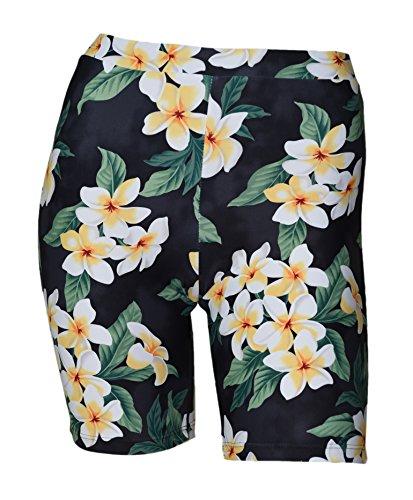Private Island Women UPF 50+ Skinny Beach Board Shorts Swimsuit Hot Pants Bathing Swim Rash Guard Bottom (XL, HBP)
