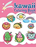 Kawaii Coloring Book For Kids: Cute Coloring Pages for Kids With Sweet Cupcakes,, Yami Donuts, Cats and Different Desserts and More! - Girls Kawaii Gift for Fun and Relaxation