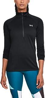 Womens Tech ½ Zip Long-Sleeve Pullover