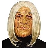 Widmann 6846F Maske alte Frau, Mehrfarbig