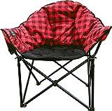 Kuma Outdoor Gear Lazy Bear Heated Chair (Red Plaid)