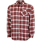 Mossy Oak Flannel Shirt for Men, Buffalo Plaid Long Sleeve Mens Flannel Shirts, Soft Flannels for men, a Traditional Look with New Age Comfort