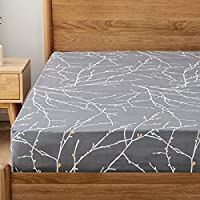 Bedsure Branch Fitted Sheet