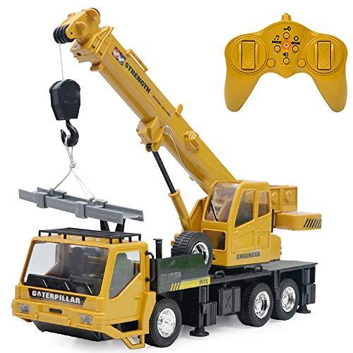 wangch Control Remoto camión eléctrico Control Remoto grúa Tractor ingeniería vehículo luz...