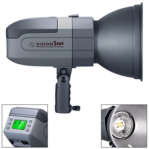 Neewer Vision5 400W TTL for Canon HSS Outdoor Studio Flash Strobe with 2.4G System...