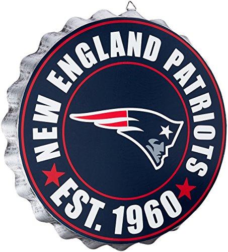 Forever Collectibles Placa Decorativa para Pared de corcholata de la NFL, Color del Equipo, Una Talla
