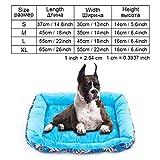 AMURAO Winter Haustierbett Bank Short Plüsch Puppy House Cat Mat Sofa Liege für kleine mittlere große Hunde PP Cotton Kennel