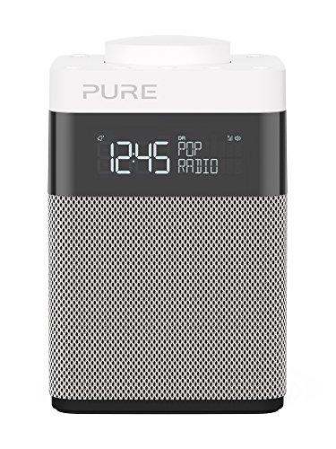 """Pure Pop Mini Portable Numérique Noir, Argent, Blanc Radio Portable - Radios Portables (Portable, Numérique, Dab,Dab+,DMB-R,FM, 87,5-108 MHz, 1,6 W, 7,62 cm (3""""))"""
