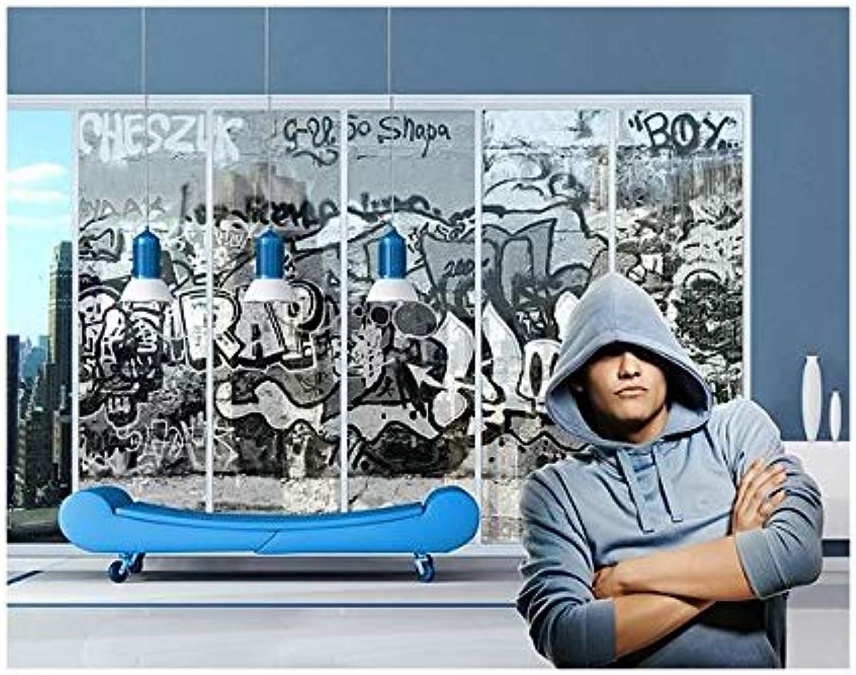 Apalis Sticker fenêtre XXL Graffiti Art, Taille 380cm x 432cm