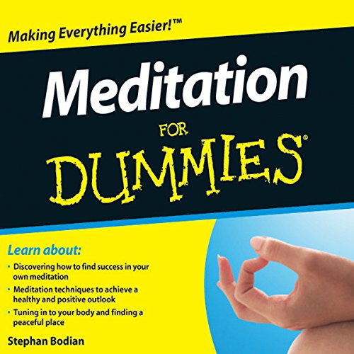 Meditation For Dummies Audiobook cover art