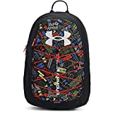 Under Armour Adult Hustle Sport Backpack , Black (006)/Halo Gray , One Size Fits All