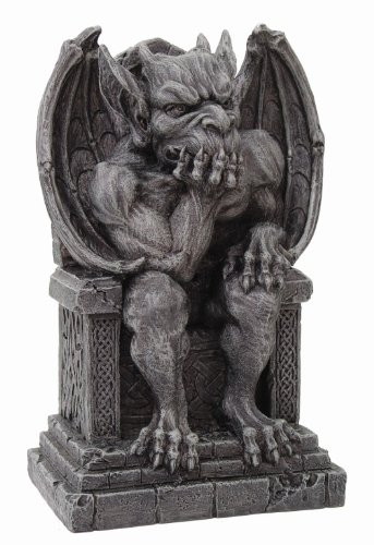 Pacific Giftware The Thinker Medieval Gargoyle Statue Thinking