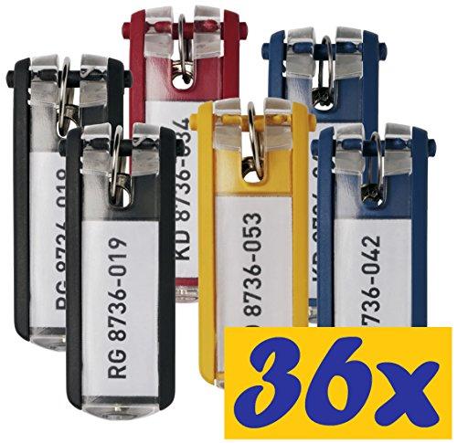 Schlüsselanhänger (36er Pack, Sortiert)