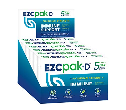 EZC Pak-D 5-Day Immune Support - 6ct