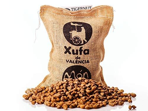 Saco yute 1 kg Chufa tradicional D.O. València - Món Orxat